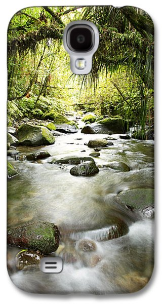 Beautiful Creek Galaxy S4 Cases - New Zealand  Galaxy S4 Case by Les Cunliffe