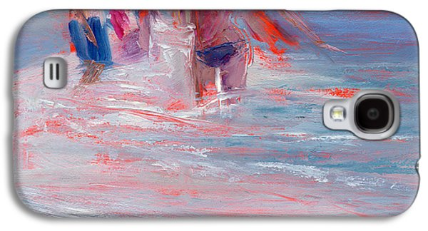 Jersey Shore Paintings Galaxy S4 Cases - RCNpaintings.com Galaxy S4 Case by Chris N Rohrbach