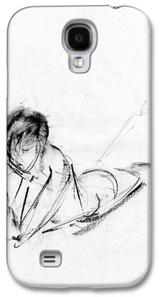 Pencil Galaxy S4 Cases - RCNpaintings.com Galaxy S4 Case by Chris N Rohrbach