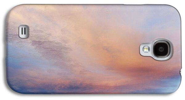 Abstract Nature Galaxy S4 Cases - Clouds Galaxy S4 Case by Les Cunliffe