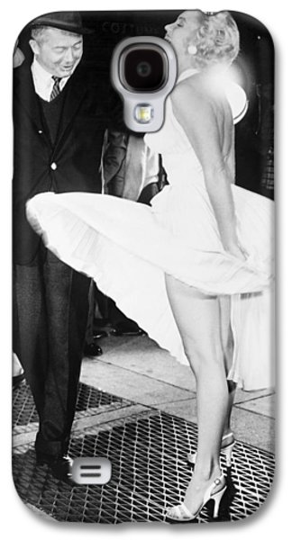 1955 Movies Photographs Galaxy S4 Cases - Marilyn Monroe (1926-1962) Galaxy S4 Case by Granger