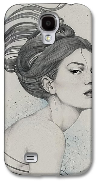 Face Digital Galaxy S4 Cases - 230 Galaxy S4 Case by Diego Fernandez