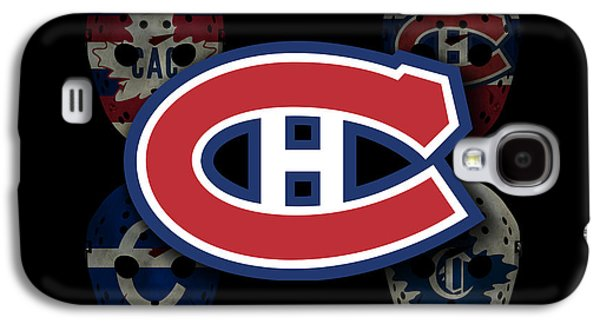 Montreal Canadiens Galaxy S4 Cases - Montreal Canadiens Galaxy S4 Case by Joe Hamilton