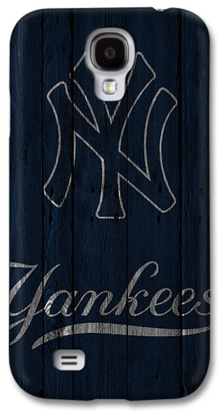 Recently Sold -  - Sports Photographs Galaxy S4 Cases - New York Yankees Galaxy S4 Case by Joe Hamilton