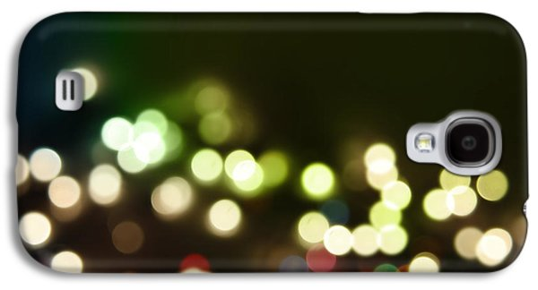 Dark Digital Art Galaxy S4 Cases - Abstract background Galaxy S4 Case by Les Cunliffe