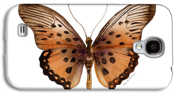 Moth Paintings Galaxy S4 Cases - 26 Trimans Butterfly Galaxy S4 Case by Amy Kirkpatrick