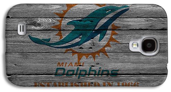Miami Dolphins Galaxy S4 Case by Joe Hamilton