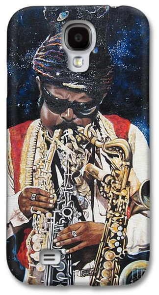 Kirk Galaxy S4 Cases - 285  Rahsaan Roland Kirk  Galaxy S4 Case by Sigrid Tune