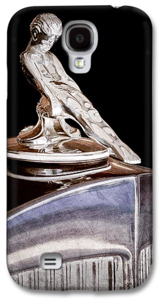 Transportation Photographs Galaxy S4 Cases - 1934 Packard Hood Ornament Galaxy S4 Case by Jill Reger