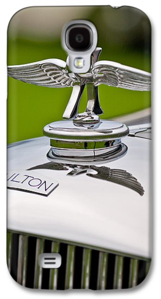 Elegance Photographs Galaxy S4 Cases - 1937 Railton Rippon Brothers Special Limousine Hood Ornament Galaxy S4 Case by Jill Reger