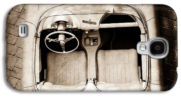 1960 Photographs Galaxy S4 Cases - 1960 Chevrolet Corvette Interior Galaxy S4 Case by Jill Reger