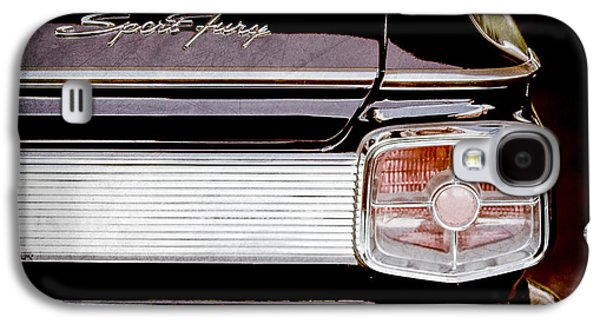 Fury Galaxy S4 Cases - 1963 Plymouth Sport Fury Taillight Emblem Galaxy S4 Case by Jill Reger