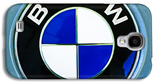 Photography Prints Galaxy S4 Cases - 1972 BMW 2000 TII Touring Emblem Galaxy S4 Case by Jill Reger