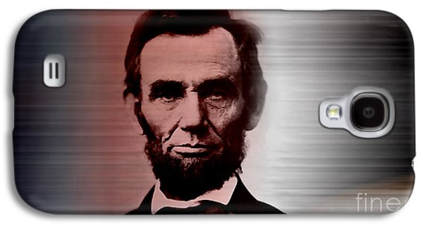 Abraham Lincoln Galaxy S4 Cases - Abraham Lincoln Galaxy S4 Case by Marvin Blaine