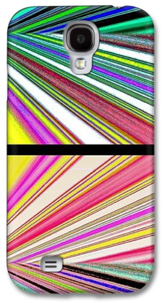 Abstract Digital Digital Galaxy S4 Cases - Abstract Fusion 221 Galaxy S4 Case by Will Borden