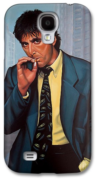 The Godfather Galaxy S4 Cases - Al Pacino  Galaxy S4 Case by Paul  Meijering