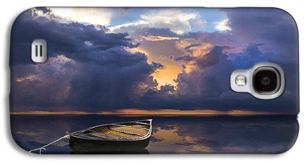 Waterscape Galaxy S4 Cases - Alone Galaxy S4 Case by Debra and Dave Vanderlaan