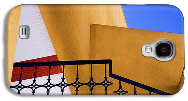 Diagonal Galaxy S4 Cases - Architectural Detail Galaxy S4 Case by Carol Leigh