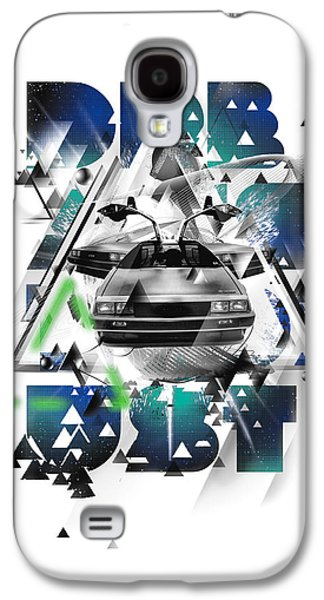 Personality Galaxy S4 Cases - Back to the Delorean Galaxy S4 Case by Pop Culture Prophet