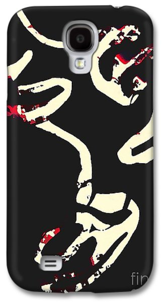 Avant Garde Mixed Media Galaxy S4 Cases - Balance 3 Galaxy S4 Case by Sarah Loft