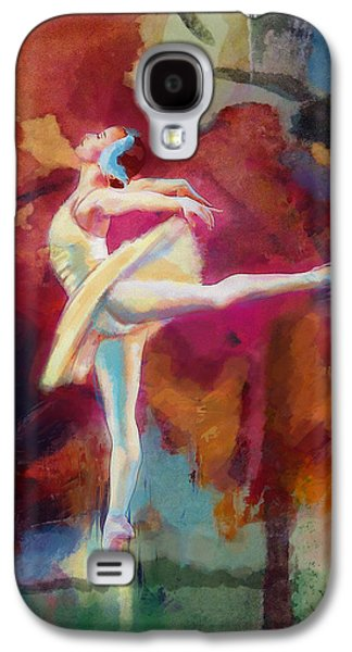 Ballet Dancers Paintings Galaxy S4 Cases - Ballet Dancer Galaxy S4 Case by Corporate Art Task Force