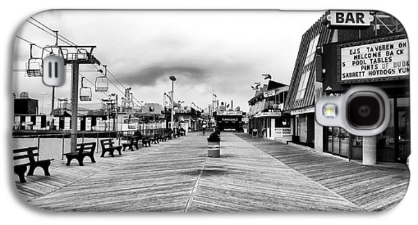 Seaside Heights Galaxy S4 Cases - Before the Crowds Galaxy S4 Case by John Rizzuto