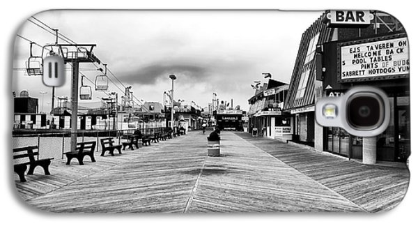 Seaside Heights Photographs Galaxy S4 Cases - Before the Crowds Galaxy S4 Case by John Rizzuto