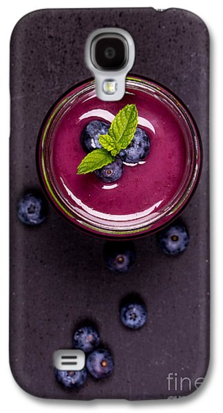 Blend Galaxy S4 Cases - Blueberry smoothie   Galaxy S4 Case by Jane Rix