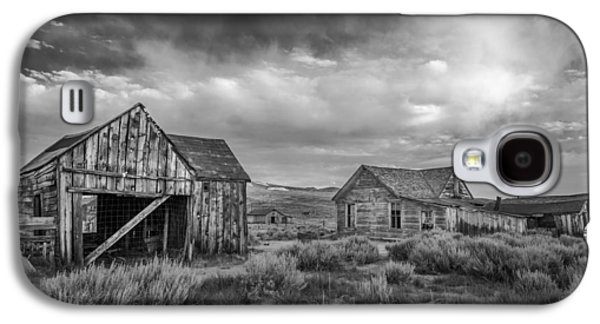 Cloudy Day Galaxy S4 Cases - Bodie Galaxy S4 Case by Cat Connor