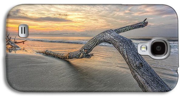 Nature Abstracts Galaxy S4 Cases - Bough in Ocean Galaxy S4 Case by Peter Lakomy