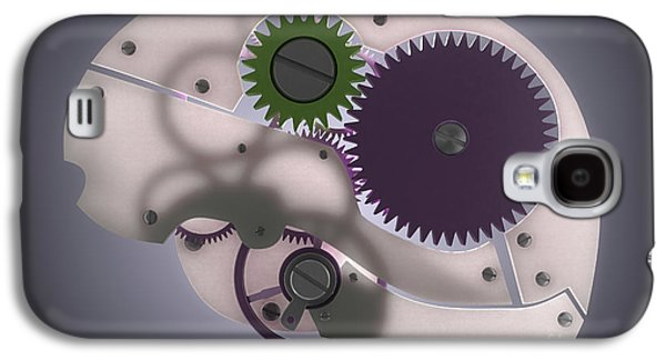Mechanism Galaxy S4 Cases - Brain Mechanism Galaxy S4 Case by Science Picture Co