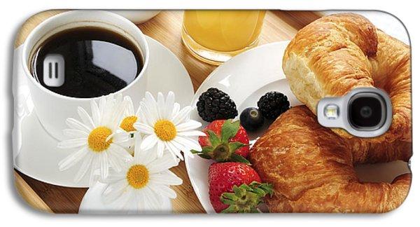 Juice Galaxy S4 Cases - Breakfast  Galaxy S4 Case by Elena Elisseeva