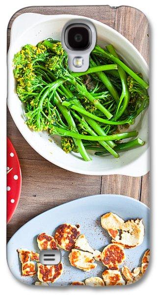 Broccoli Stems Galaxy S4 Case by Tom Gowanlock