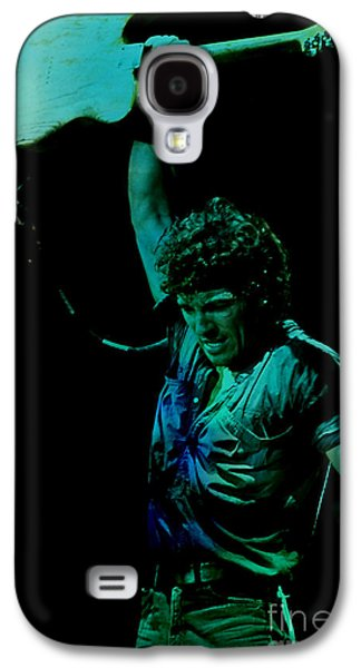 Bruce Springsteen Mixed Media Galaxy S4 Cases - Bruce Springsteen Galaxy S4 Case by Marvin Blaine
