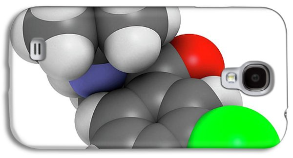 Bupropion Antidepressant Drug Galaxy S4 Case by Molekuul
