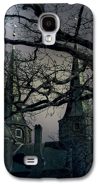 Ghostly Galaxy S4 Cases - Castle Galaxy S4 Case by Joana Kruse