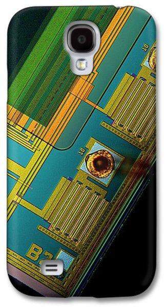 Ccd Camera Sensor Galaxy S4 Case by Antonio Romero
