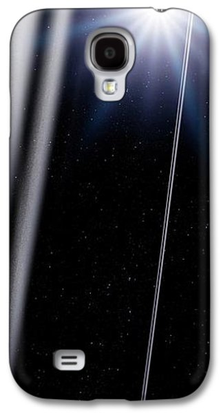 Chariklo Minor Planet And Rings Galaxy S4 Case by Detlev Van Ravenswaay