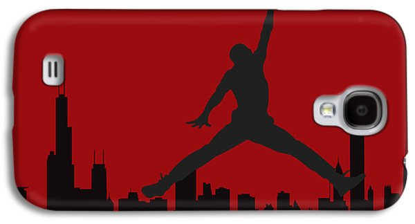 Dunk Galaxy S4 Cases - Chicago Bulls Galaxy S4 Case by Joe Hamilton
