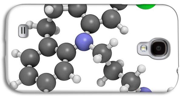 Clomipramine Tricyclic Antidepressant Galaxy S4 Case by Molekuul