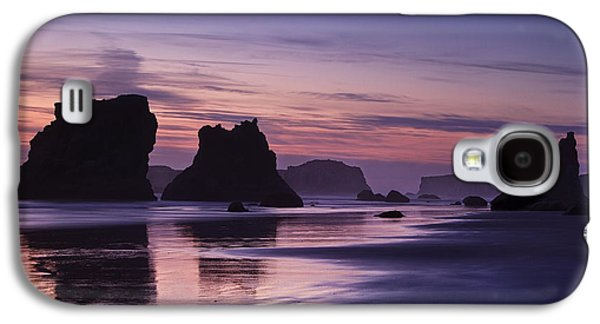 Beach Landscape Galaxy S4 Cases - Coastal Reflections Galaxy S4 Case by Andrew Soundarajan