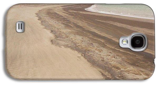 Beach Landscape Galaxy S4 Cases - Coastline Galaxy S4 Case by Les Cunliffe