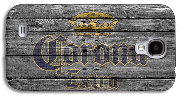 Breweries Galaxy S4 Cases - Corona Extra Galaxy S4 Case by Joe Hamilton