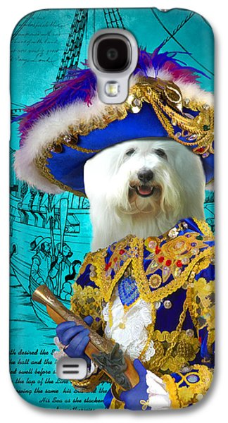 Coton Galaxy S4 Cases - Coton de Tulear Art Canvas Print  Galaxy S4 Case by Sandra Sij