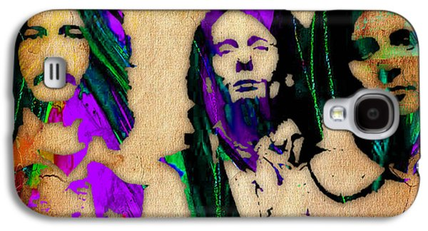 Eric Clapton Galaxy S4 Cases - Cream Eric Clapton Jack Bruce Ginger Baker Galaxy S4 Case by Marvin Blaine