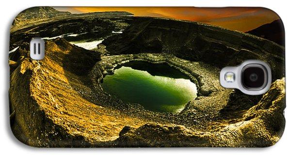 Sink Hole Galaxy S4 Cases - Dead Sea sink holes Galaxy S4 Case by Dan Yeger