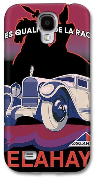 Digital Galaxy S4 Cases - Delahaye Galaxy S4 Case by Gary Grayson