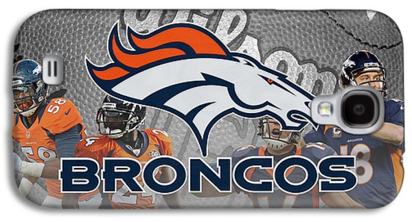 Recently Sold -  - Sports Photographs Galaxy S4 Cases - Denver Broncos Galaxy S4 Case by Joe Hamilton