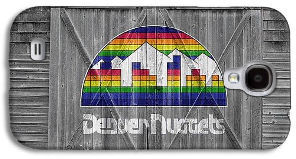 Dunk Galaxy S4 Cases - Denver Nuggets Galaxy S4 Case by Joe Hamilton