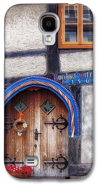 Entrance Door Galaxy S4 Cases - Doors of Germany Galaxy S4 Case by Mountain Dreams